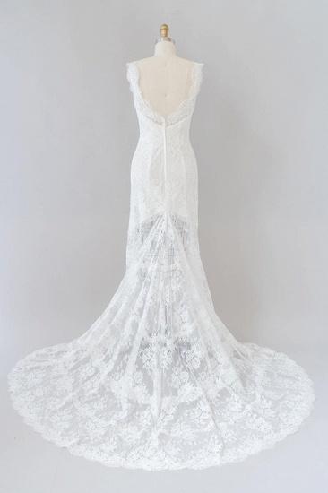 BMbridal Eye-catching Sweetheart Lace Mermaid Wedding Dress On Sale_3