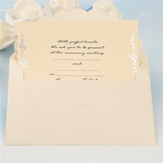 Modern Tri-Fold Bowknot Style Invitation Cards (Set of 50)_11