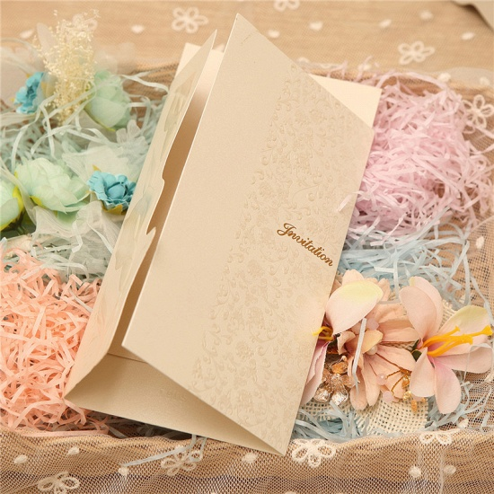 BMbridal Popular Style Tri-Fold Invitation Cards (Set of 50)_7
