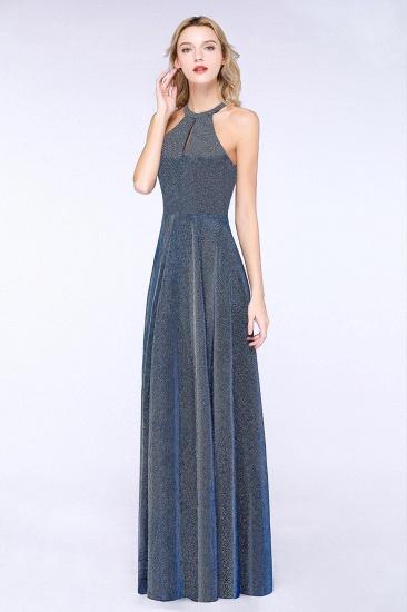 BMbridal Fashion A-Line Halter Sleeveless Evening Dress_5