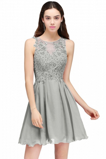 BMbridal Burgundy A-line Homecoming Dress with Lace Appliques_5