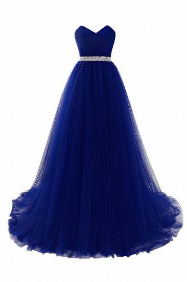 BMbridal modest sweetheart sleeveless beading a-line prom dress_4