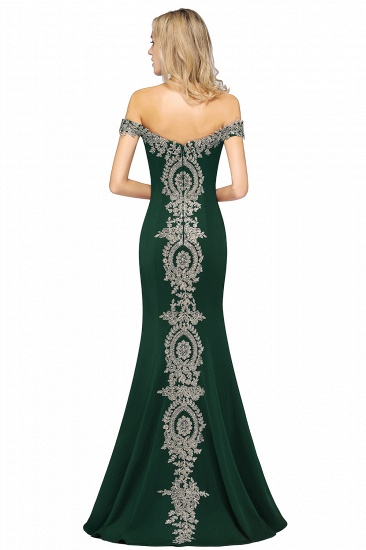 BMbridal Elegant Off-the-Shoulder Mermaid Prom Dress Long With Lace Appliques_40