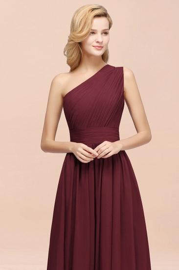 Stylish One-shoulder Sleeveless Long Junior Bridesmaid Dresses Cheap_55