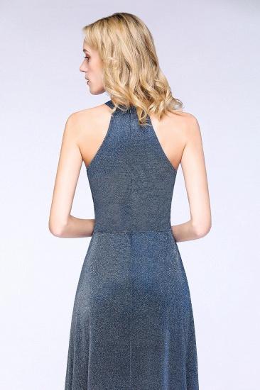BMbridal Fashion A-Line Halter Sleeveless Evening Dress_7