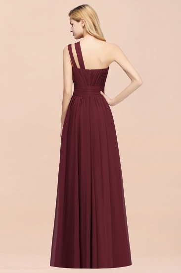 Stylish One-shoulder Sleeveless Long Junior Bridesmaid Dresses Affordable_52