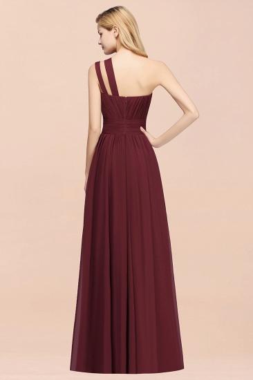 Stylish One-shoulder Sleeveless Long Junior Bridesmaid Dresses Cheap_52