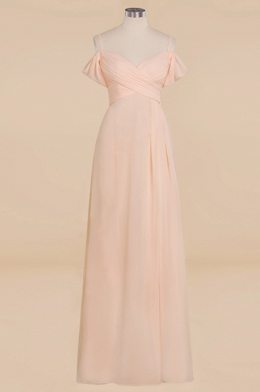 BMbridal Off-the-Shoulder Sweetheart Ruched Long Bridesmaid Dress Online_10