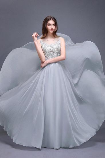 BMbridal Gorgeous Lace Chiffon Long Prom Dress_2