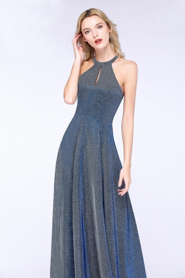 BMbridal Fashion A-Line Halter Sleeveless Evening Dress_6