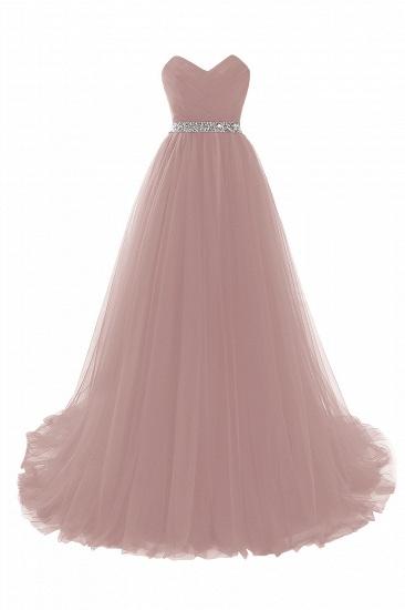 BMbridal modest sweetheart sleeveless beading a-line prom dress_2