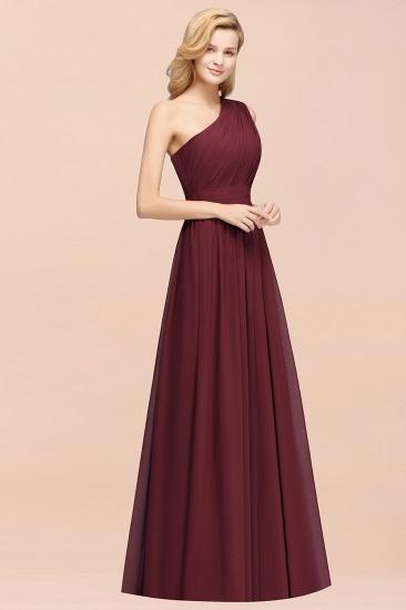 Stylish One-shoulder Sleeveless Long Junior Bridesmaid Dresses Cheap_56