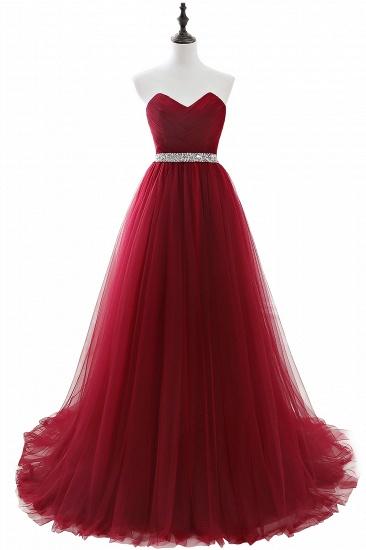 BMbridal modest sweetheart sleeveless beading a-line prom dress_3