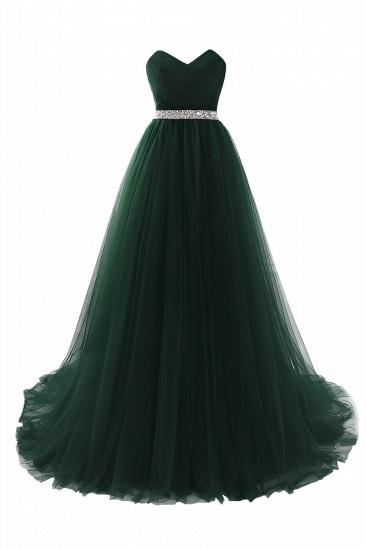 BMbridal modest sweetheart sleeveless beading a-line prom dress_7