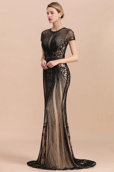 Luxury Mermaid All-Covered Beaded Prom Dress_4