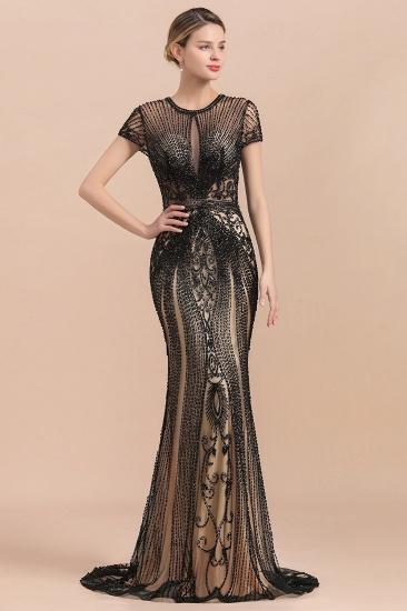 Luxury Mermaid All-Covered Beaded Prom Dress_6