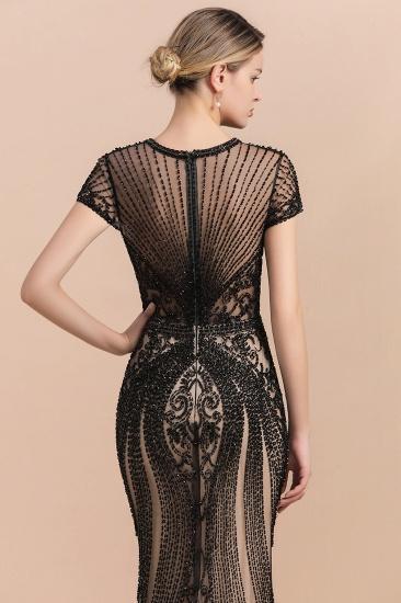 Luxury Mermaid All-Covered Beaded Prom Dress_8