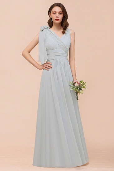 Gorgeous Ruffle Convertible Mist Chiffon Bridesmaid Dresses Online