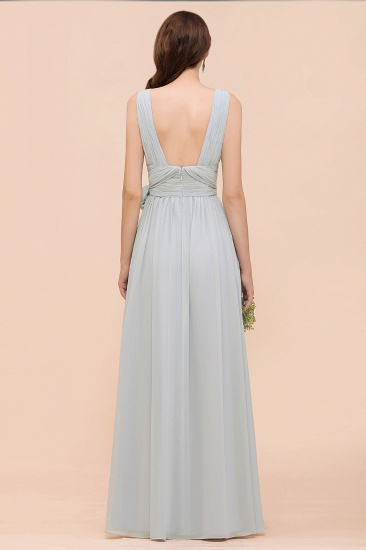 Gorgeous Ruffle Convertible Mist Chiffon Bridesmaid Dresses Online_10