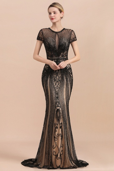 Luxury Mermaid All-Covered Beaded Prom Dress