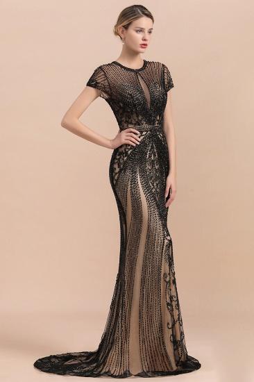 Luxury Mermaid All-Covered Beaded Prom Dress_5