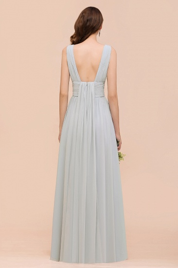 Gorgeous Ruffle Convertible Mist Chiffon Bridesmaid Dresses Online_3