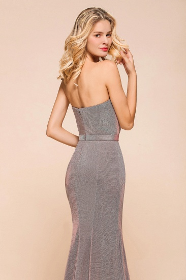 BMbridal Stunning Strapless Long Prom Dress With Split Online_8