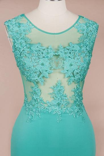BMbridal Sexy mermaid Jewel Chiffon Lace Prom Dress Jewel Tulle Bridesmaid Dress_7