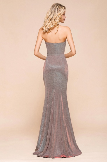 Stunning Strapless Long Prom Dress With Split Online_3