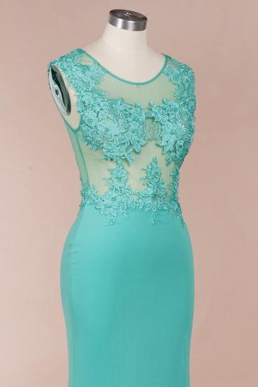 BMbridal Sexy mermaid Jewel Chiffon Lace Prom Dress Jewel Tulle Bridesmaid Dress_5