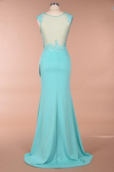BMbridal Sexy mermaid Jewel Chiffon Lace Prom Dress Jewel Tulle Bridesmaid Dress_3