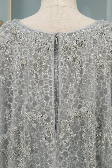 Elegant Jewel Long Sleeves Mermaid Prom Dresses with Appliques Beadings_7