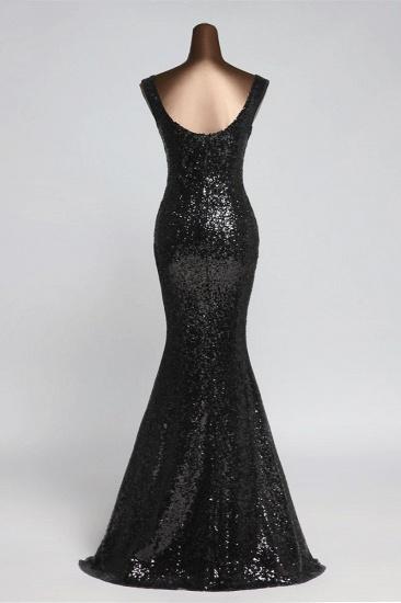 BMbridal Affordable V-Neck Pink Mermaid Prom Dresses with Front-Slit Online_9