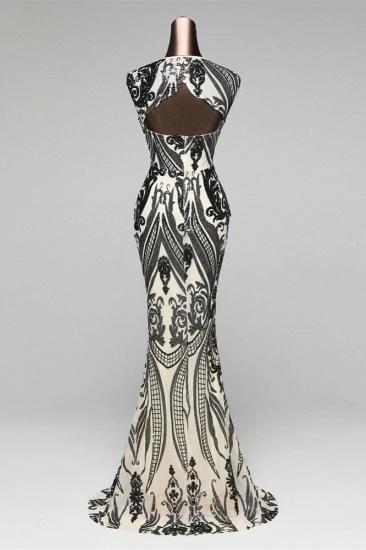 BMbridal Elegant Sequined Jewel Sleeveless Mermaid Prom Dresses with Beadings_14