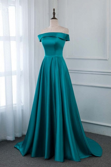 BMbridal Affordable Off-the-Shoulder Sleeveless Prom Dresses with Ruffles_4