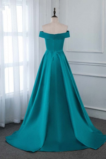 Affordable Off-the-Shoulder Sleeveless Prom Dresses with Ruffles_3
