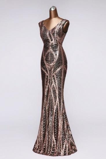 BMbridal Elegant V-Neck Sleeveless Long Mermaid Prom Dresses Online_10