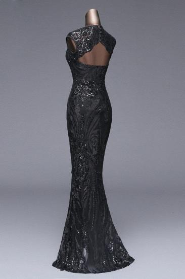 BMbridal Elegant Sequined Jewel Sleeveless Mermaid Prom Dresses with Beadings_17