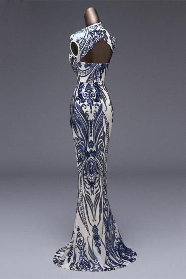 BMbridal Elegant Sequined Jewel Sleeveless Mermaid Prom Dresses with Beadings_11