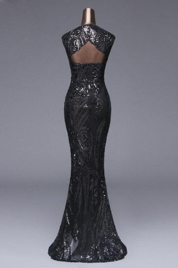 BMbridal Elegant Sequined Jewel Sleeveless Mermaid Prom Dresses with Beadings_20