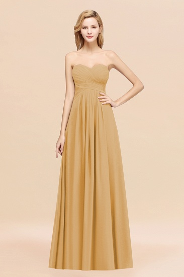 BMbridal Vintage Sweetheart Long Grape Affordable Bridesmaid Dresses Online_13