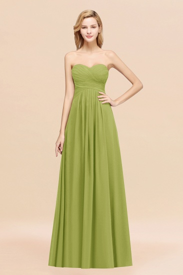 Vintage Sweetheart Long Grape Affordable Bridesmaid Dresses Online_34