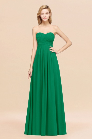 Vintage Sweetheart Long Grape Affordable Bridesmaid Dresses Online_49