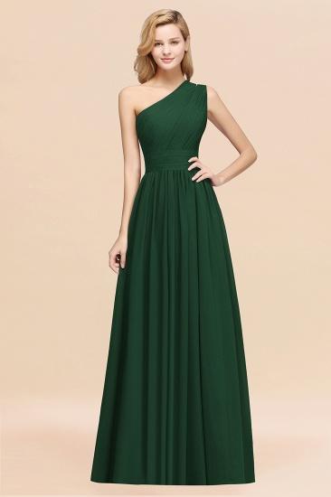 BMbridal Stylish One-shoulder Sleeveless Long Junior Bridesmaid Dresses Affordable_31