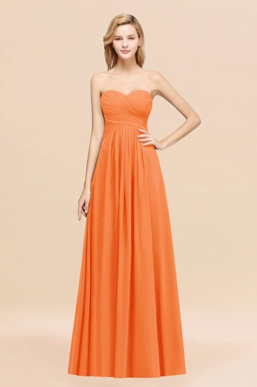 Vintage Sweetheart Long Grape Affordable Bridesmaid Dresses Online_15