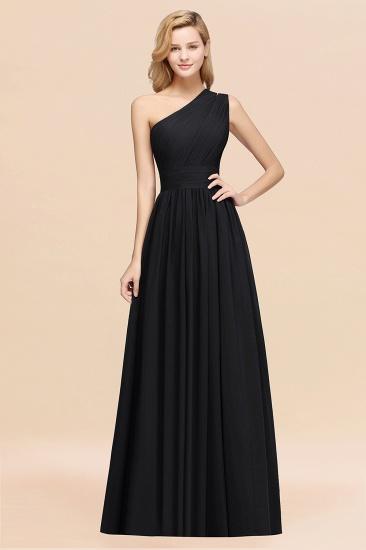 BMbridal Stylish One-shoulder Sleeveless Long Junior Bridesmaid Dresses Affordable_29
