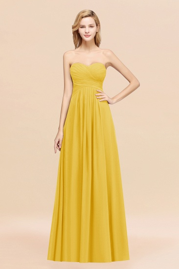 Vintage Sweetheart Long Grape Affordable Bridesmaid Dresses Online_17