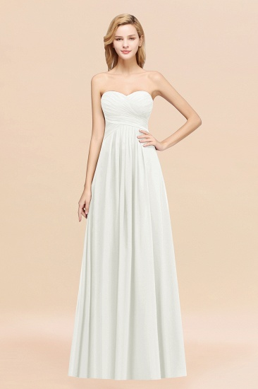Vintage Sweetheart Long Grape Affordable Bridesmaid Dresses Online_2