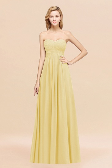 Vintage Sweetheart Long Grape Affordable Bridesmaid Dresses Online_18