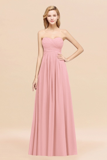 BMbridal Vintage Sweetheart Long Grape Affordable Bridesmaid Dresses Online_4